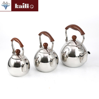 Competitive price double tea kettle kettle stainless steel