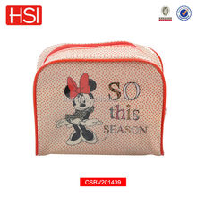 New customized Mickey Mouse pvc travel cosmetic bag