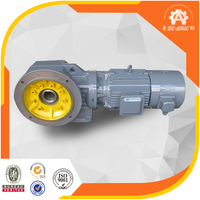 30 years manufacturing history K series helical bevel gear motor for conveyor