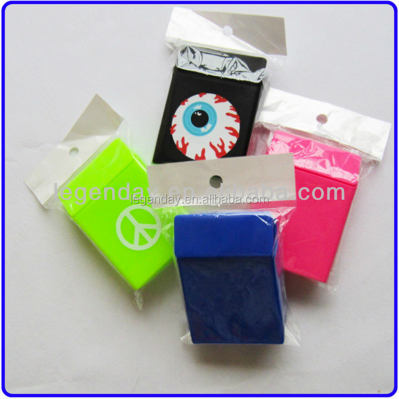 Promotional Gift Custom Logo 20's Silicone Cigarette Packet Sleeve