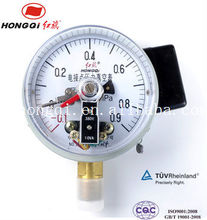 "YX-100 100mm(4"")electric contact vacuum pressure gauge -0.1~0.9mpa"