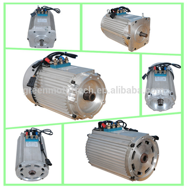 Ac motor 48v 4kw electric car motor kit for electric golf for Electric car ac motor