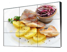 Hot sale tv 40 inch ultra narrow bezel 12 mm brightness 450cd\/m2 lcd video wall PIP 3x4