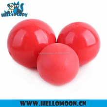 Wholesale High Quality Red Bouncing Ball Favorable Price Rubber Dog Toy