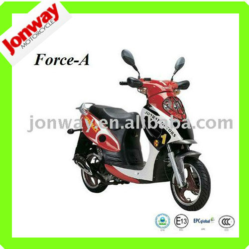 50cc gasoline motor scooter