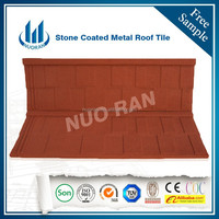 Spanish Style Stone Coated Metal Roof Tiles Cheap Roofing Materials/ceramic roofing shingle