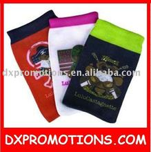 NYLON SUBLIMATION mobile phone sock/cell phone sock