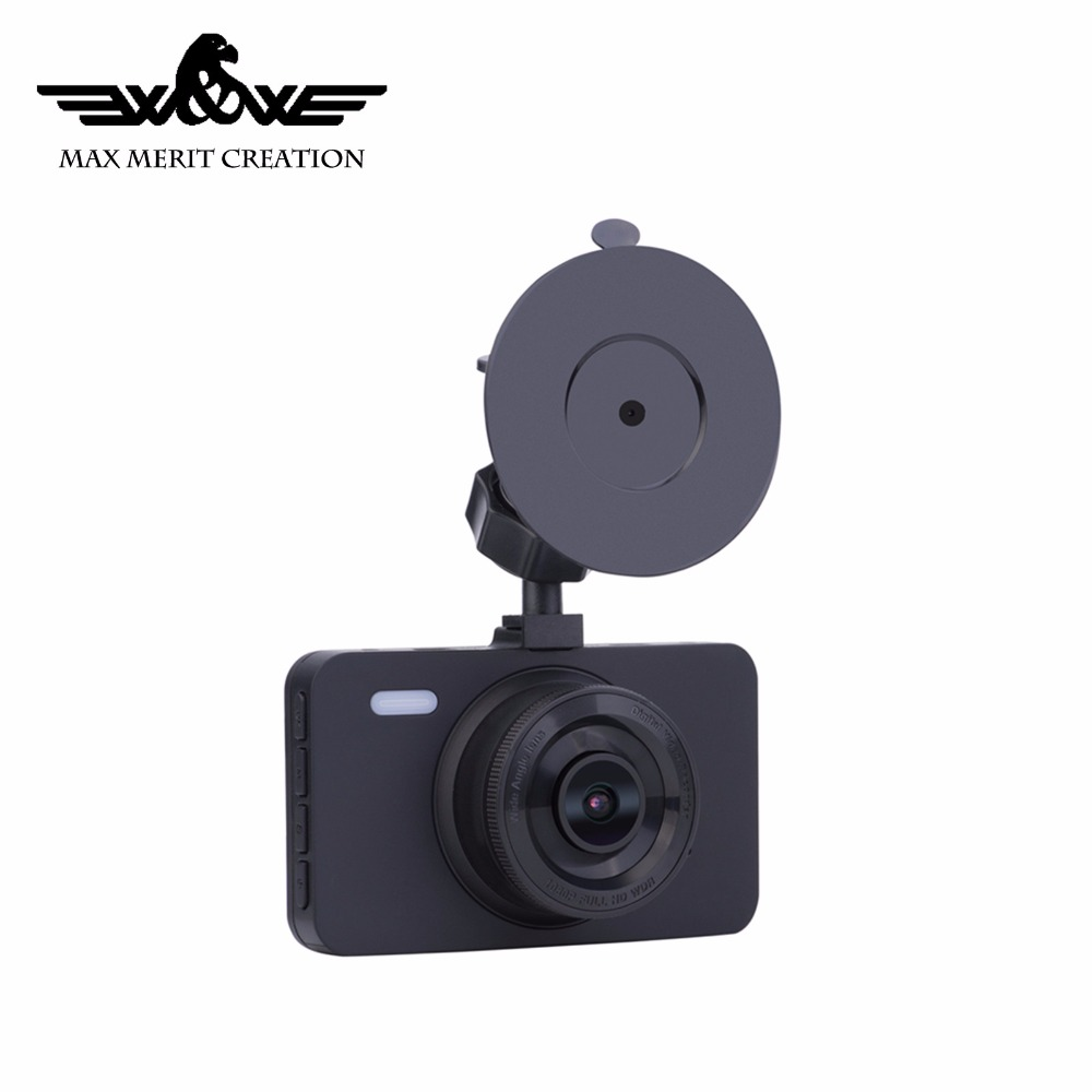 New wide view angle 3.0 inch reverse camera fhd 1080P dashcam view car camera system