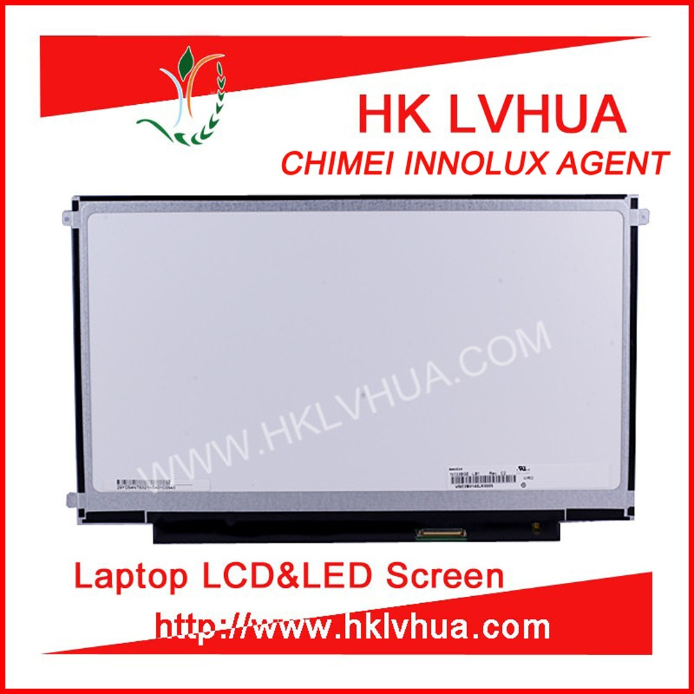 "N133B6 L02 B133XW02 V0 V2 LP133WH1 TLA2 for 13.3"" 1366*768 lvds 40 pin glossy normal laptop parts"