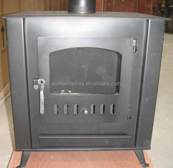 popular and best selling steel plate wood burning stove(KH001)