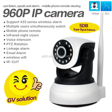 Wholesale HD 960P 1.3MP Network PTZ Mini WIFI P2P IP Cameras Home CCTV Security Camera