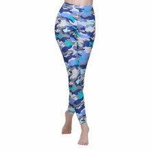 SBART Women's Wholesale Surfing Long Pants, Surf Pant and Womens Yoga Pants in Camo Lycra for Diving and Surfing