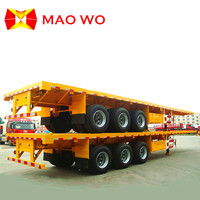 Wholesale 3 Axles 40ft Flatbed Semi