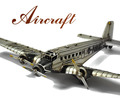 Junkers JU 52/3M WWII German Transport Plane Iron Model Kit Craft