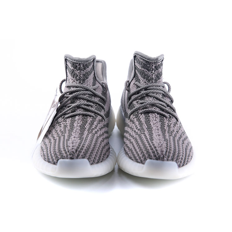 High quality flyknit fabric mens yeezy running shoes