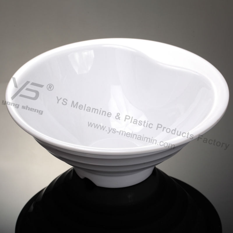 The new design plastic melamine dinnerware noodles bowl