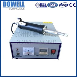 factory supply ultrasound ultrasonic handheld welding 30khz riviting welder
