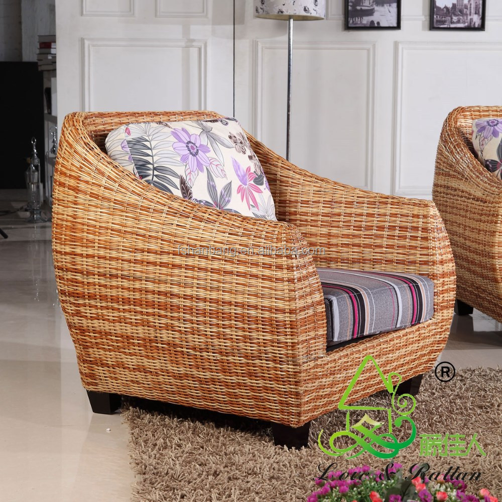 Real indoor natural rattan furniture buy natural rattan for Real wicker outdoor furniture