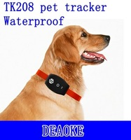 DEAOKE Hot Mini smart gps pet tracking chip TK208 with SMS query