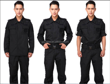 New Design Best Black Color Security Guard Uniform