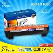 TN1000 Black Compatible Toner Cartridge for Brother Inkjet With 100% defective replacement