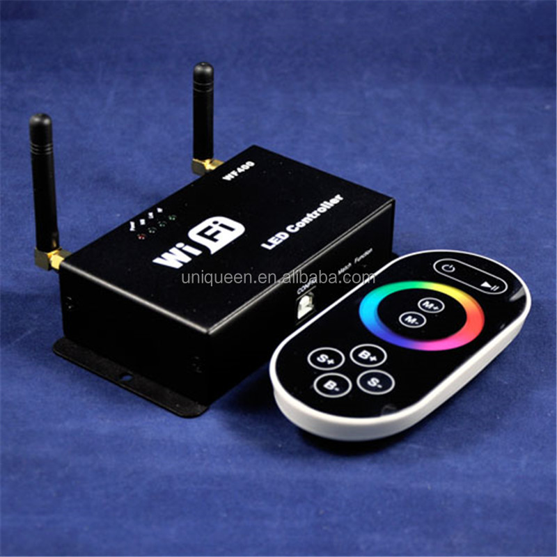 New Style 2.4G LED RGB Lighting Android IOS Mobile Phone WiFi Controller RGB 3 Channels Wifi Controller Enter In Route