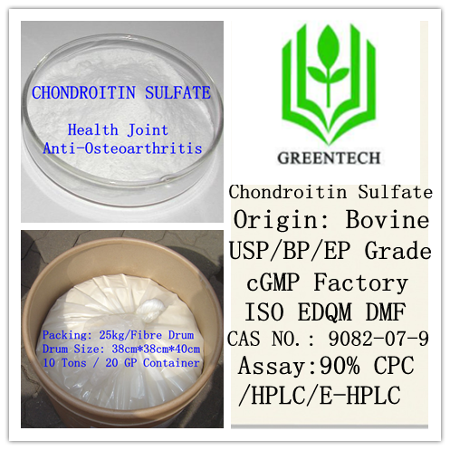 High Assay Quality Chondroitin Sulfate 90% by E-HPLC