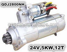 cheap engine starter QDJ2800NH 24V 11T made in china for 6 Cylinder QDJ Starter
