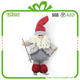 "Popular 11"" funny christmas craft santa claus and snowman doll decorative"