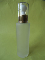 100ml Frosted lotion dropper glass bottles, serum bottle, essential oil bottle wholesales made in China.