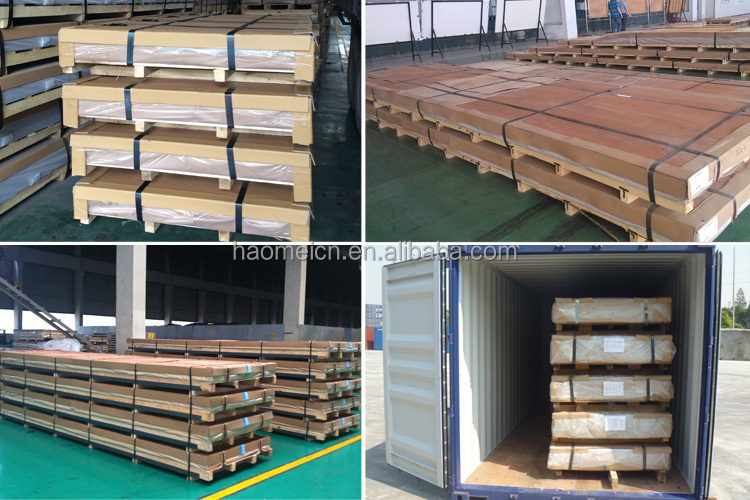China professional manufacturer supply aluminium cladding sheet prices