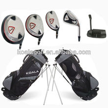 China wholesale golf clubs,cheap golf club set with stand bag