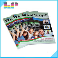 Magazine, catalog, booklet, all types of book printing