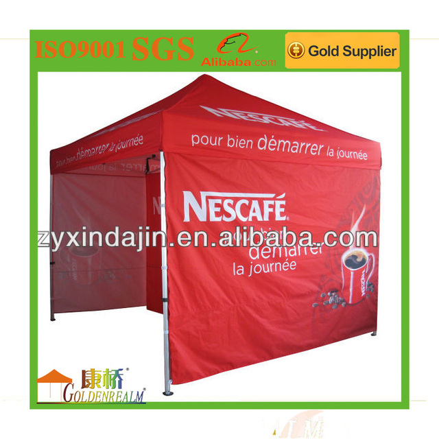 10x10 folding gazebo tent Cheap outdoor pop up folding advertising tent