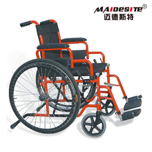 Cheap price manually self propelled mechanical invalid wheelchair