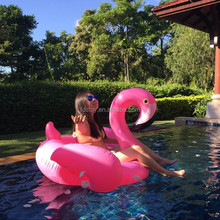 inflatable flamingo float raft summer swim pool fun toys for adults kids