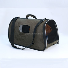 Foldable Washable Travel Pet Carrier,Airline Approved Pet Carrier Soft-sided