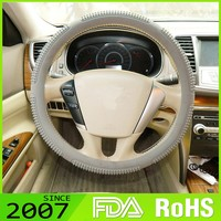 Hot Designs 13-17 Inch Silicone Steering Wheel Covers
