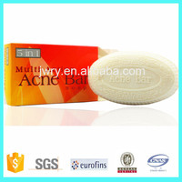 100gr OEM hotel bath medicated anti acne bar soap