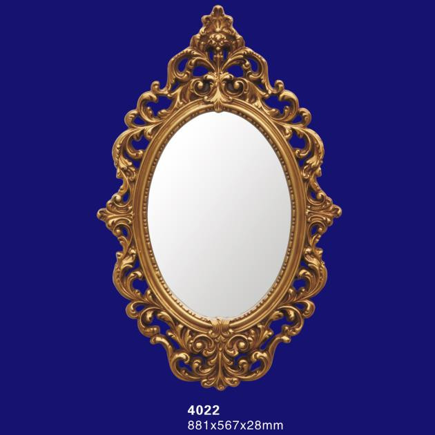 Cheap guangdong wall decor pu foam large size mirrors with for Cheap designer mirrors