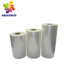 Pet shrink film for bottle label perforated pof pe/pof polyolefin roll