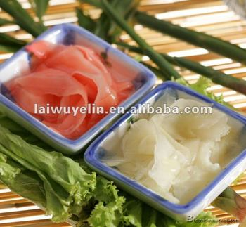 2017 Favorable price top quality red pickled sushi ginger