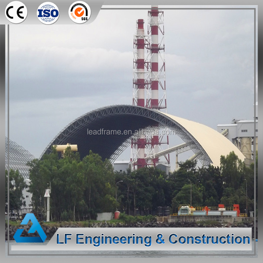 Steel barrel structure coal fired power plant for sale