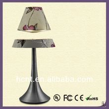 New Invention ! Electromagnetic levitating table light, 2012 led aluminum reading table lamp