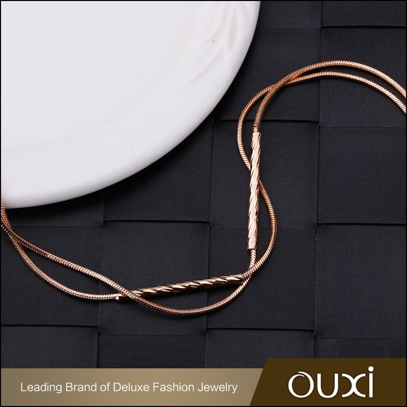 OUXI Latest design Top quality Gold plated Chain london 2016 bracelets 30396