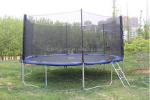 Hot sale large size biggest trampoline with outside safety net