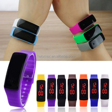 New Silicone Watchband Women Men LED Digital Screen Watch Dress Sports Watches Fashion Outdoor Wristwatches kids for student