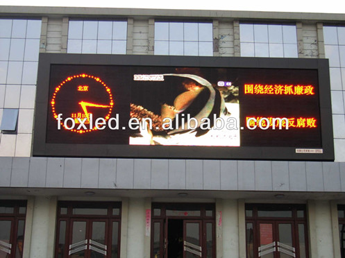shenzhen factory P10 DIP Full color outdoor advertising LED display