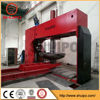 OD3000mm Dished Cover Head Cold Spinning Machine/hemispherical dished head/spinning machine specifications