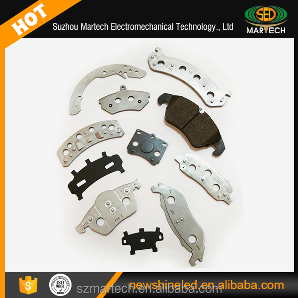 brake pad plate for car brake system